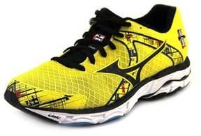 Mizuno Wave Inspire 10 Round Toe Synthetic Running Shoe.
