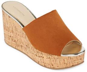 Liz Claiborne Paloma Womens Wedge Sandals