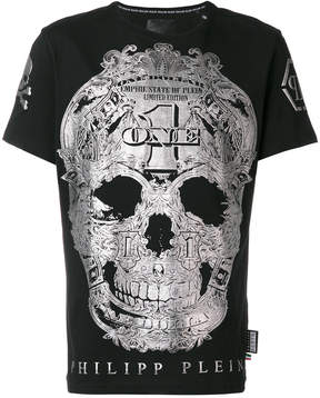 Philipp Plein silver skill T-shirt