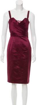Christian Dior Sleeveless Satin Dress