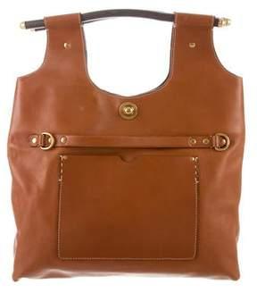 Ghurka Martine Leather Handle Bag