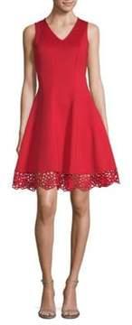 Donna Ricco Sleeveless A-Line Dress