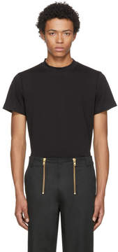 Helmut Lang Black Skinny Tall Military T-Shirt