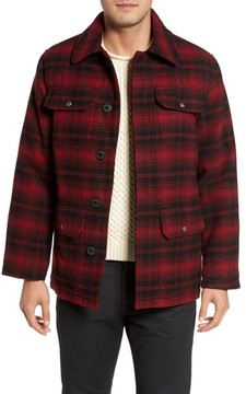 Cole Haan Men's Hunter Jack Wool Blend Shirt Jacket