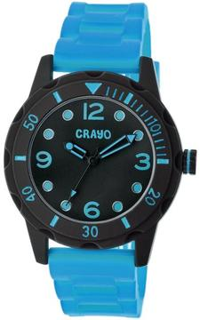 Crayo Splash Collection CRACR2207 Unisex Watch with Silicone Strap