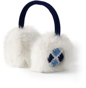 Lands' End Lands'end Women's Fair Isle Earmuffs