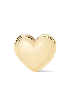 Alison Lou Heart 14-karat Gold Earring