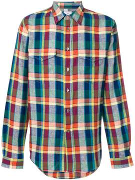 Paul Smith check patch pocket shirt