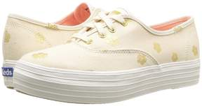 Keds Triple Hibiscus Women's Lace up casual Shoes