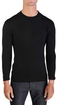Christian Dior Virgin Wool Crewneck Sweater Black.