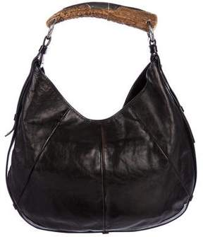 Saint Laurent Leather Mombasa Hobo