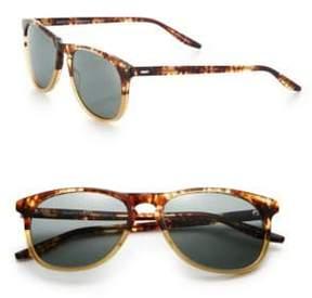 Barton Perreira Mac 55MM Square Sunglasses