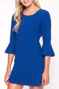 Everly Ruffle Shift Dress