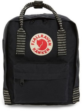 Fjallraven 'Mini Kanken' Water Resistant Backpack - Black