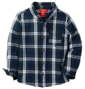 Joe Fresh Flannel Shirt (Toddler & Little Boys)