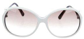 Emilio Pucci Round Oversize Sunglasses