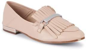 Karl Lagerfeld Paris Women's Leather Tassel Loafers