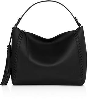 AllSaints Kepi East/West Leather Shoulder Bag