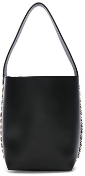 Givenchy Infinity Smooth Bucket Bag in Black.
