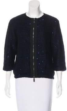 Pinko Knit Embellished Jacket