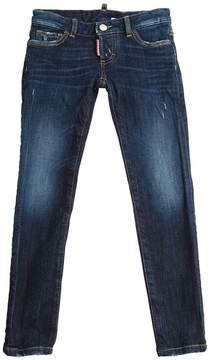 DSQUARED2 Stonewashed Stretch Denim Jeans