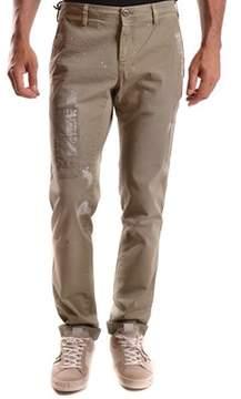 Mason Men's Green Cotton Pants.