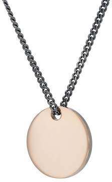 Miansai Men's Disc Pendant Necklace
