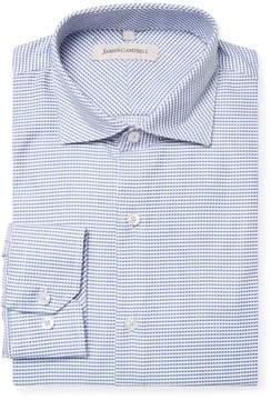 James Campbell Men's Spread Barrel Dress Shirt