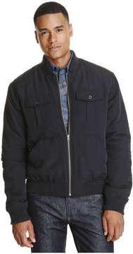 Joe Fresh Men's Bomber Jacket, JF Black (Size S)