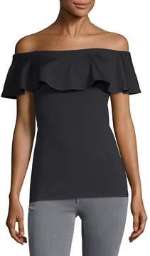 Susana Monaco Women's Lola Dotted Halter Dress