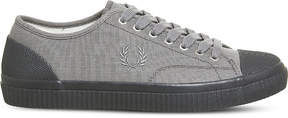Fred Perry Hughes low-top canvas trainers