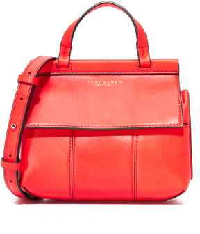 Tory Burch Block T Mini Top Handle Bag - SAMBA - STYLE
