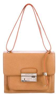 Michael Kors Gia Flap Shoulder Bag - BROWN - STYLE
