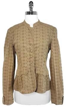 DAY Birger et Mikkelsen Tan Eyelet Cotton Jacket