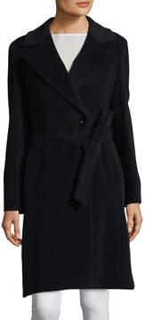 Cinzia Rocca Women's Belted Notched-Collar Coat