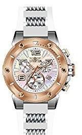 Invicta Men's Speedway Quartz Chronograph White Dial Watch 22513