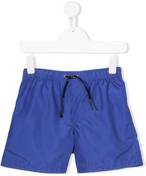 Dolce & Gabbana logo patch swim shorts