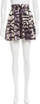 ALICE by Temperley Brushstroke Printed Pleated Skirt