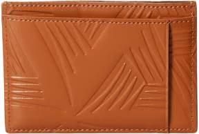 Marni Flower Embossed Leather Card Holder