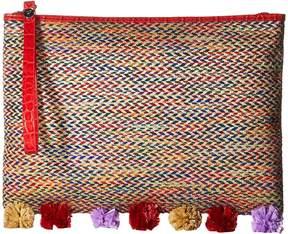 Sam Edelman Rosalind Straw Clutch Clutch Handbags