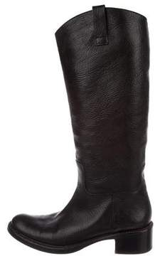 Roberto Del Carlo Leather Knee Boots