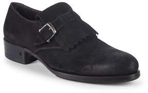 John Varvatos Men's Lafayette Suede Monk Strap Shoes