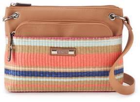 Rosetti Gilda Striped Mini Crossbody Bag