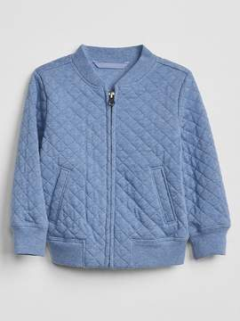 Gap Quilted Bomber Jacket