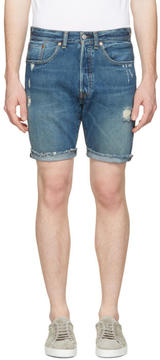 Levi's Levis Indigo Denim 501 CT Shorts