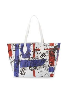 Burberry Union Jack Sketchbook Series Tote Bag, Multi - MULTI PATTERN - STYLE