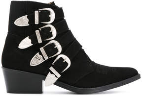 Toga Pulla multi-strap cowboy boots