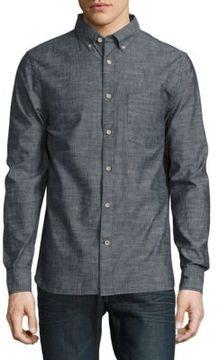 Joe's Jeans Heathered Button-Down Shirt