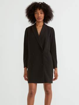 Frank and Oak Blazer Dress in True Black