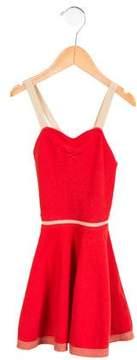 Caramel Baby & Child Girls' Knit Sleeveless Dress